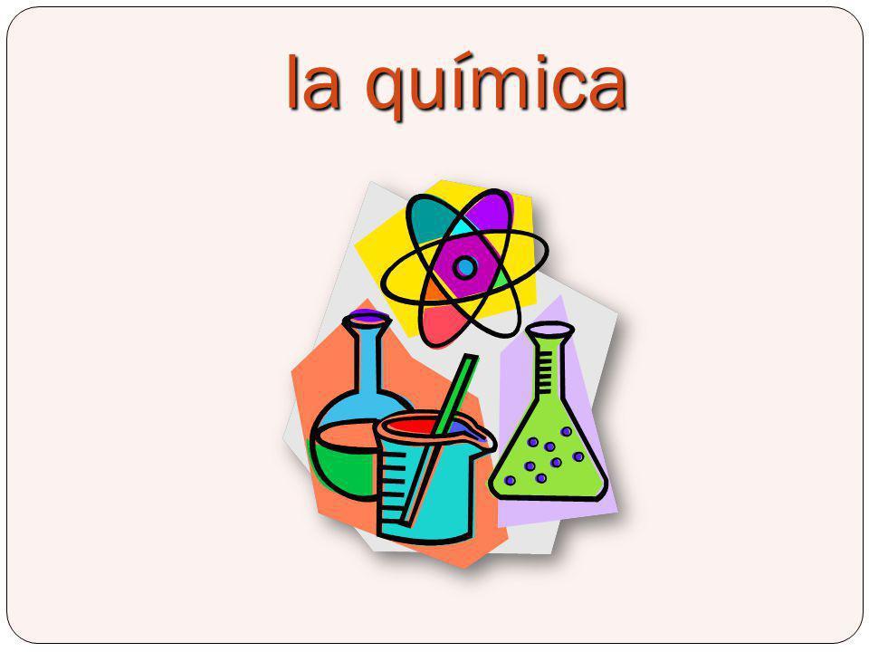 la química Chemistry