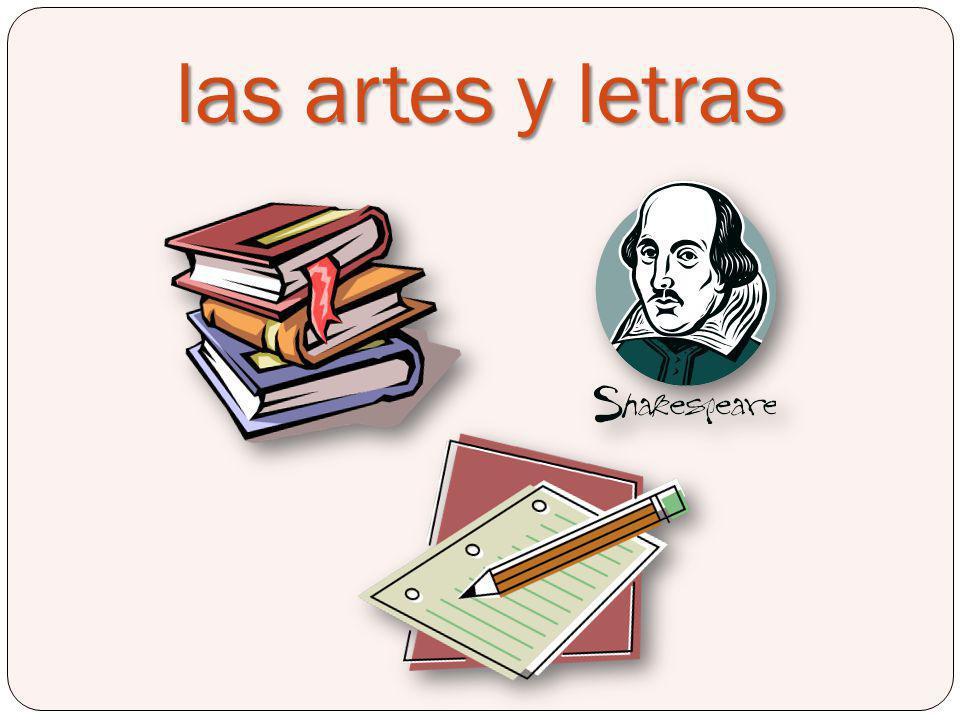 las artes y letras Language Arts