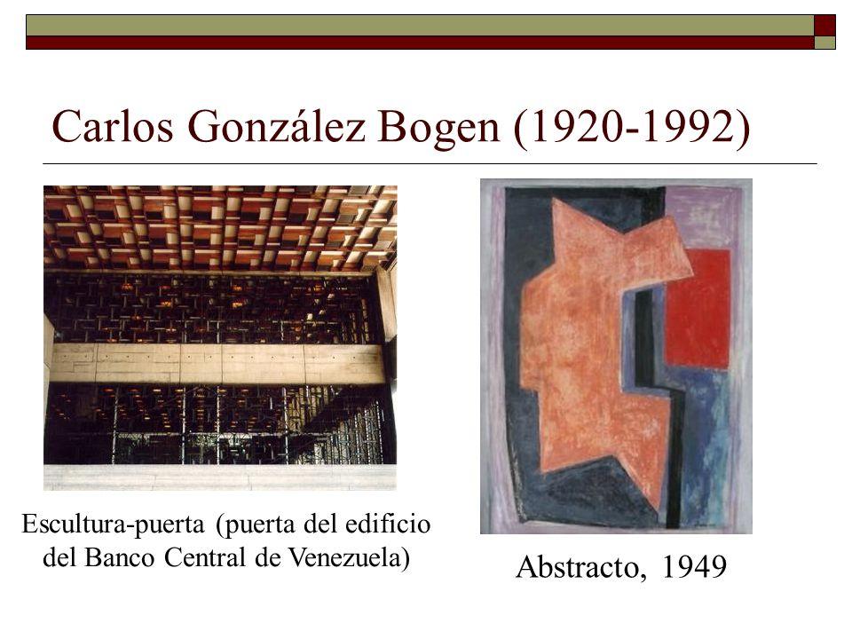 Carlos González Bogen (1920-1992)