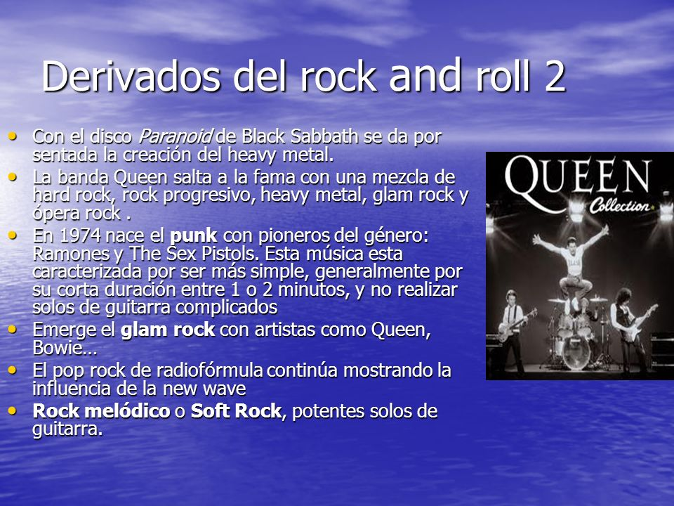 Derivados del rock and roll 2