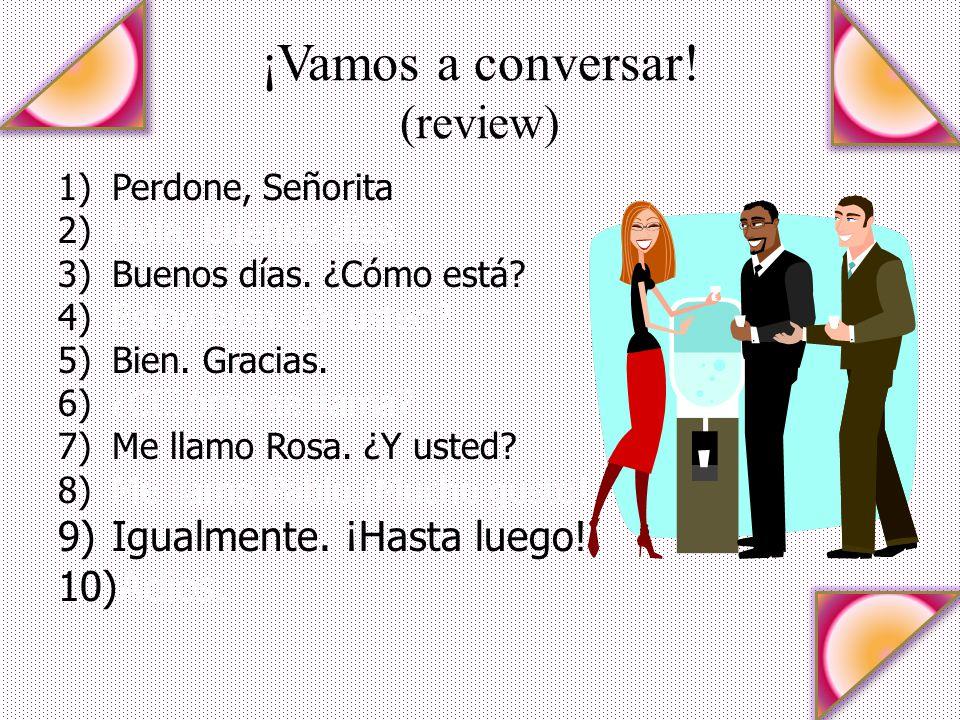 ¡Vamos a conversar! (review)