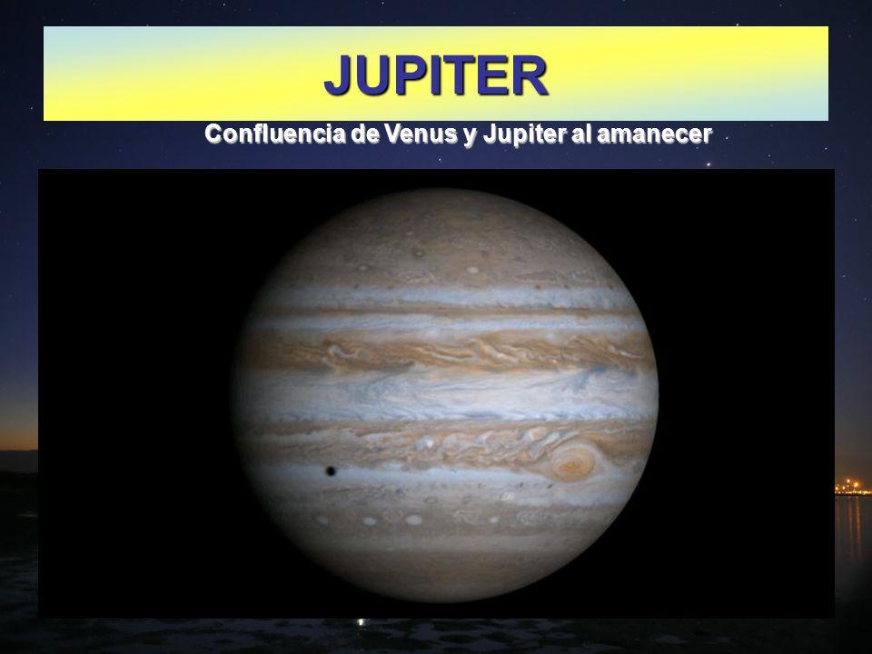 JUPITER Confluencia de Venus y Jupiter al amanecer