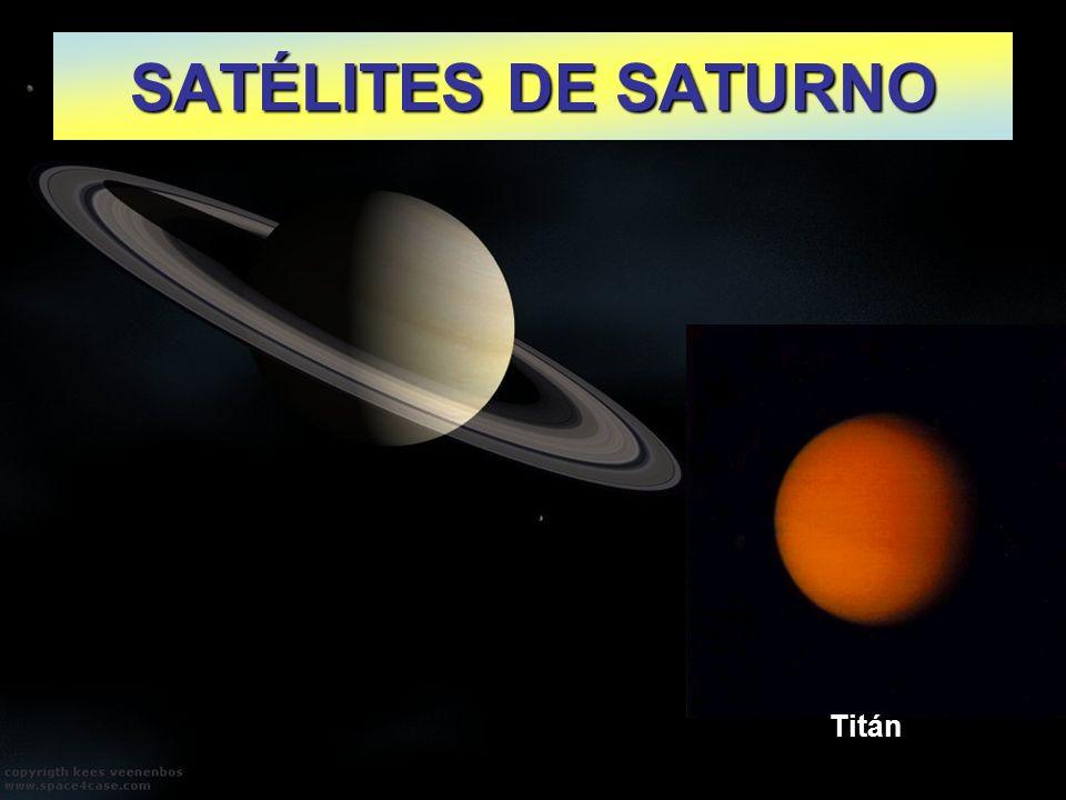 SATÉLITES DE SATURNO Titán