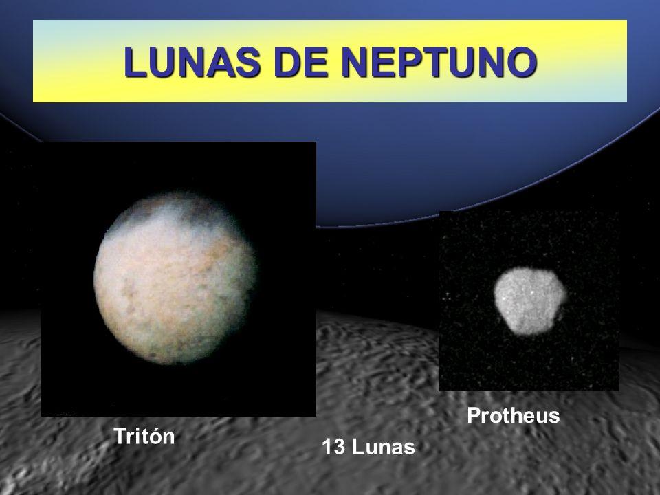 LUNAS DE NEPTUNO Protheus Tritón 13 Lunas