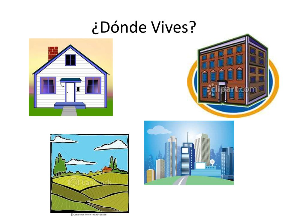 ¿Dónde Vives