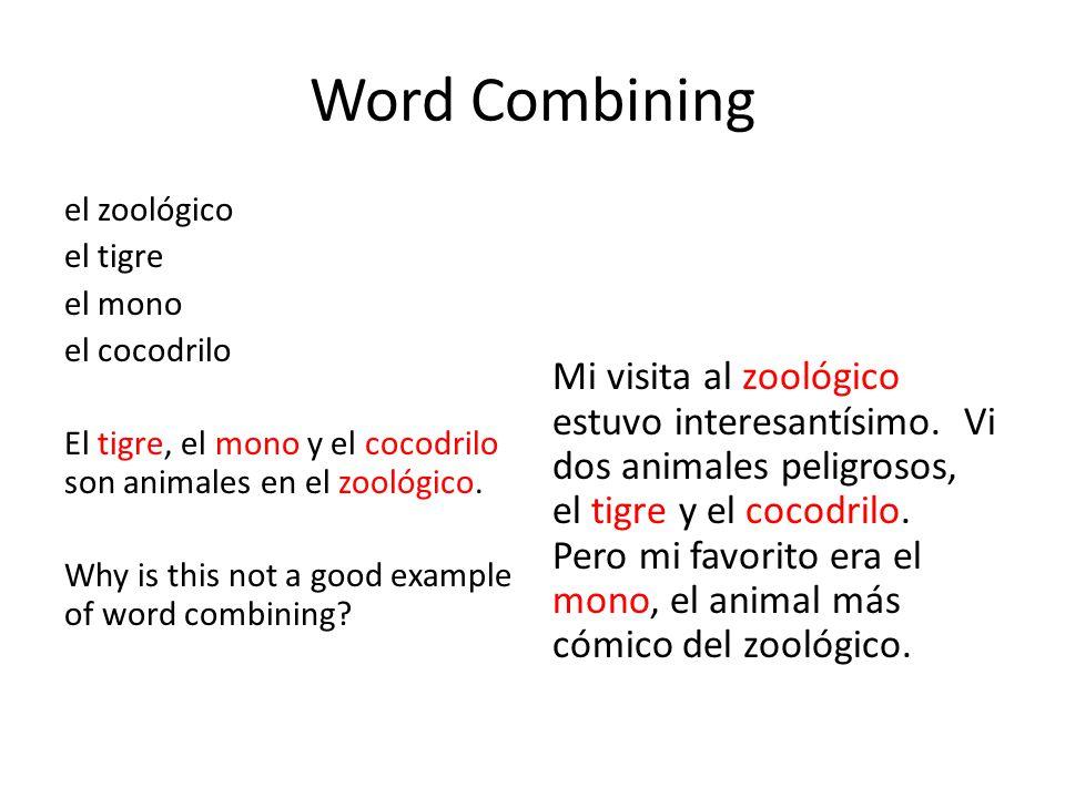 Word Combining