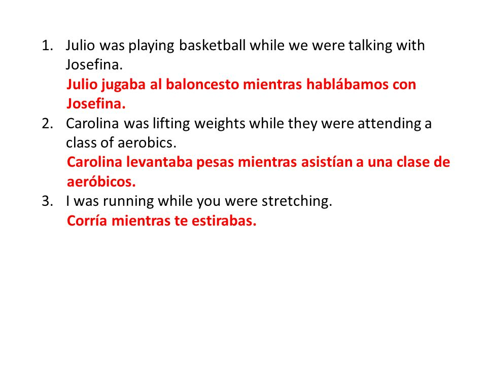 Julio was playing basketball while we were talking with Josefina.