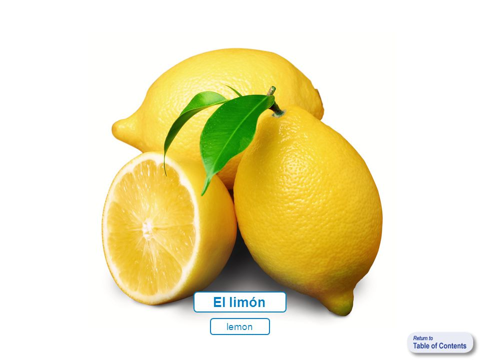 El limón lemon