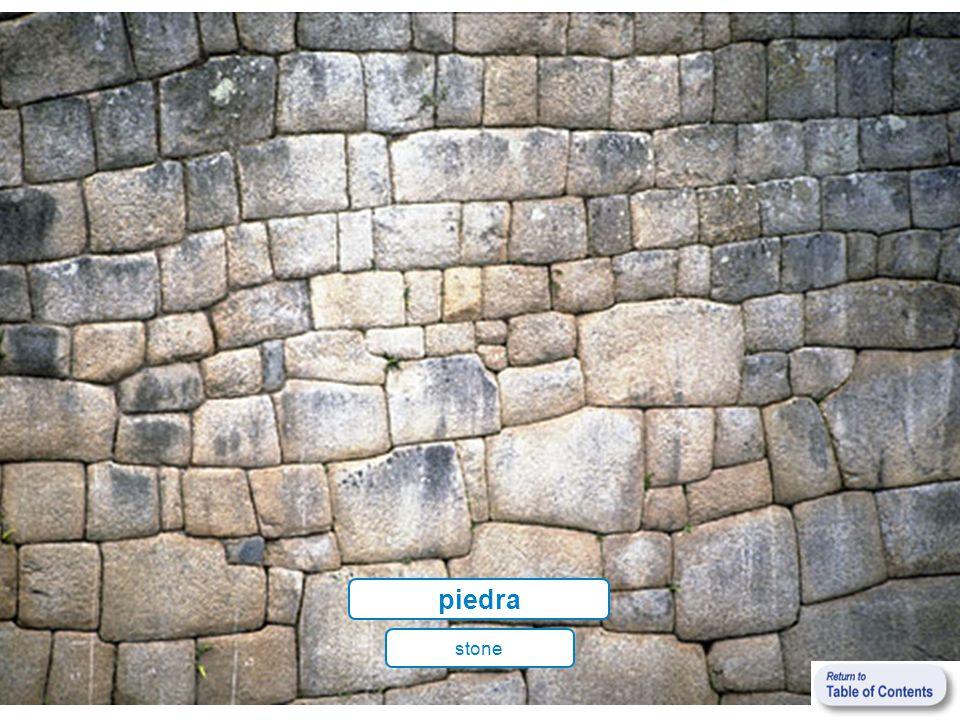 piedra stone