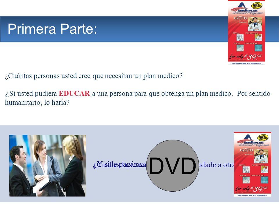 DVD The Company Primera Parte: