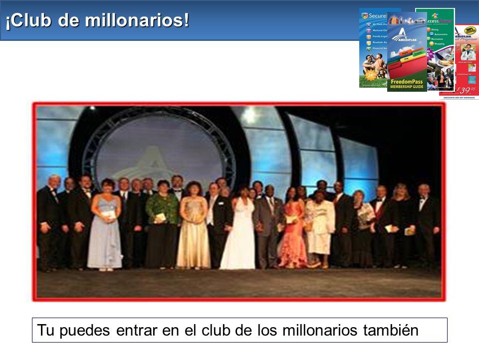 ¡Club de millonarios! Tu puedes entrar en el club de los millonarios también