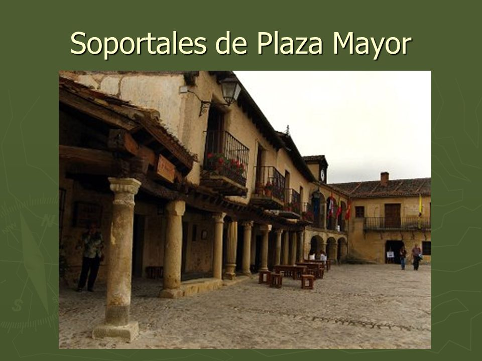 Soportales de Plaza Mayor