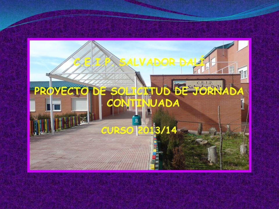 PROYECTO DE SOLICITUD DE JORNADA CONTINUADA