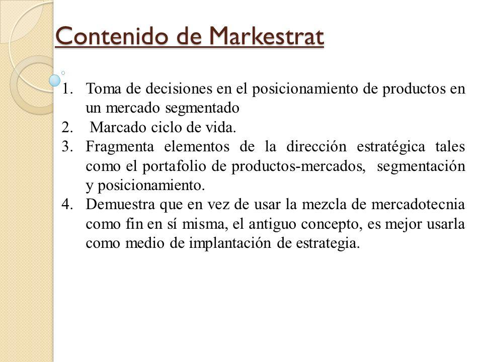 Contenido de Markestrat