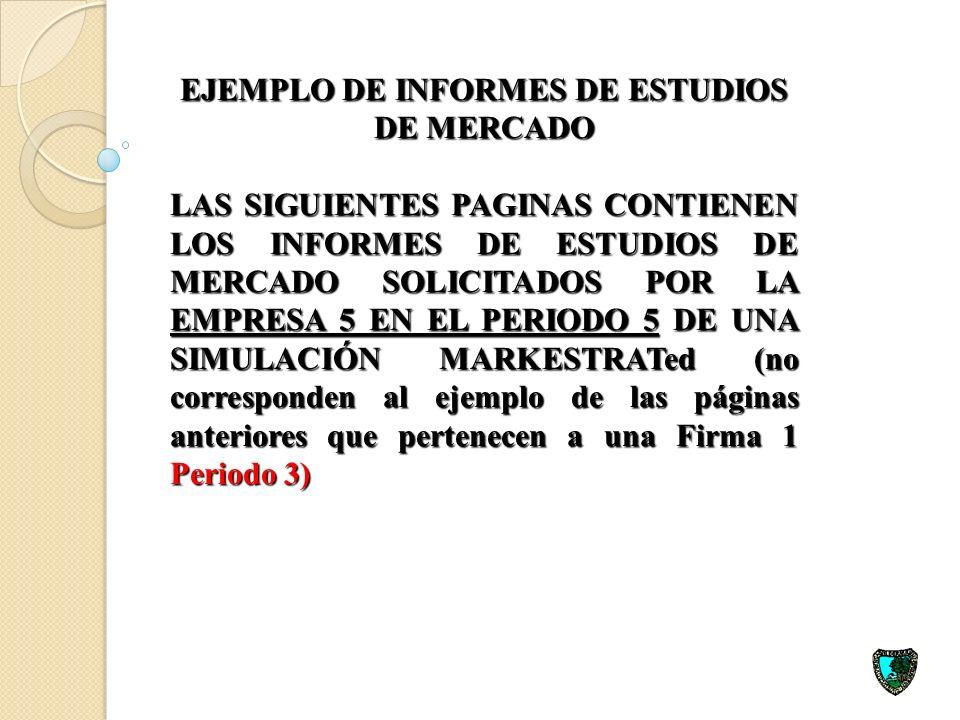 EJEMPLO DE INFORMES DE ESTUDIOS DE MERCADO