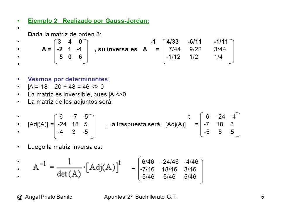 Apuntes 2º Bachillerato C.T.
