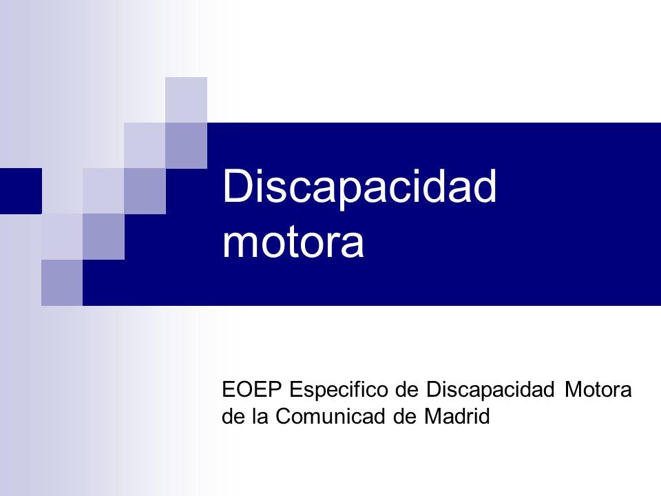 EOEP Especifico de Discapacidad Motora de la Comunicad de Madrid