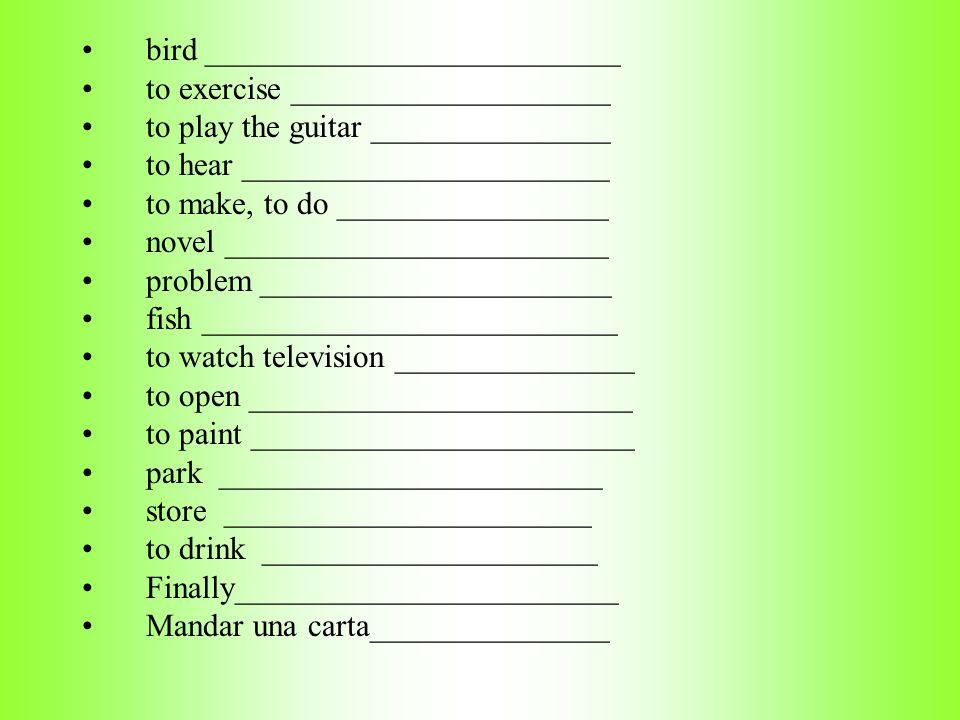 bird __________________________