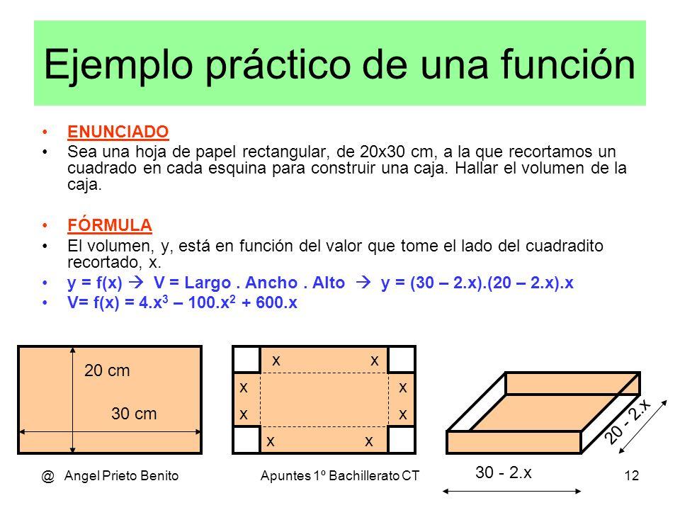 Ejemplo práctico de una función
