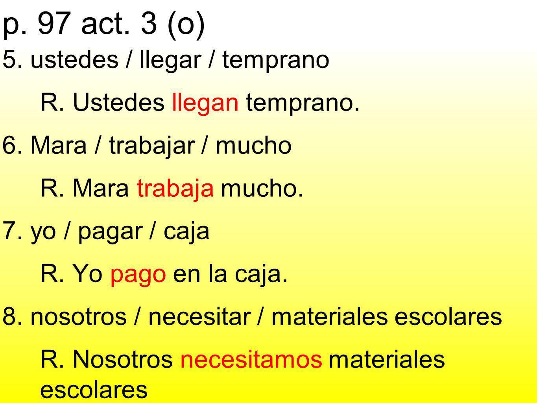 p. 97 act. 3 (o)