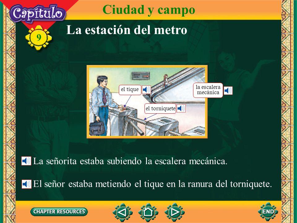 Ciudad y campo La estación del metro