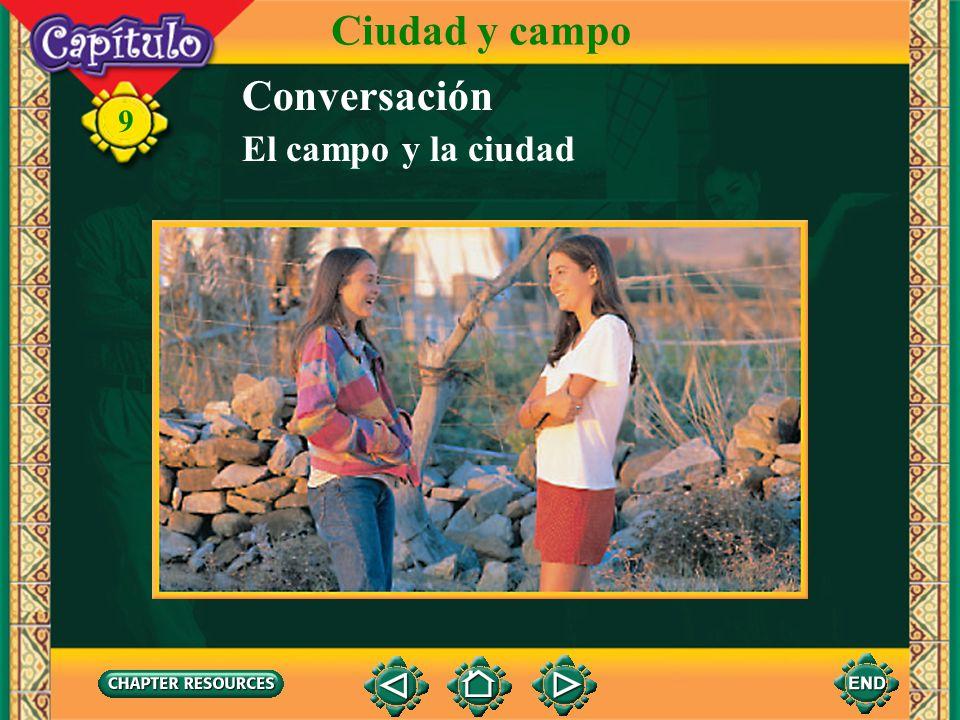 Ciudad y campo Conversación El campo y la ciudad