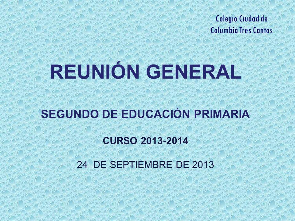 SEGUNDO DE EDUCACIÓN PRIMARIA