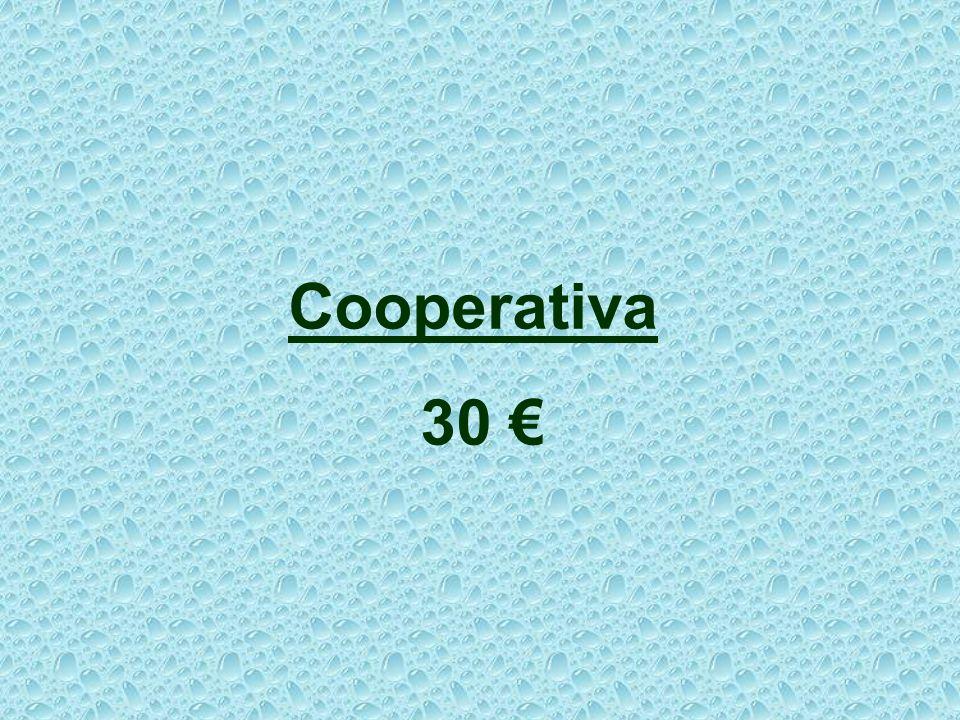 Cooperativa 30 € 22