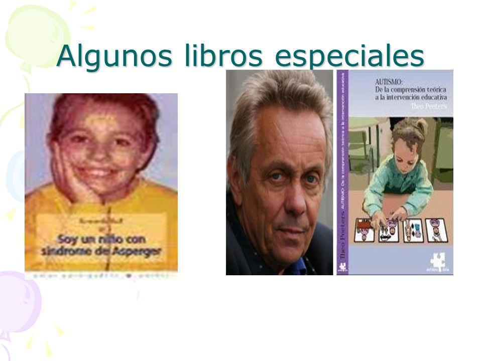 Algunos libros especiales