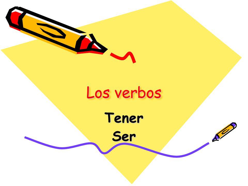 Los verbos Tener Ser
