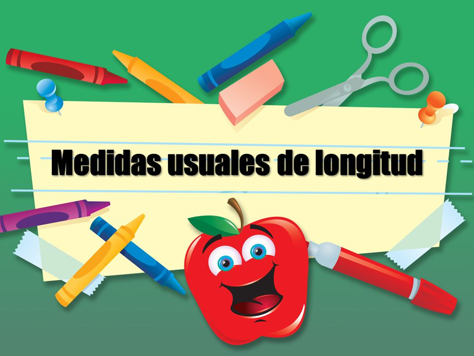 Medidas usuales de longitud