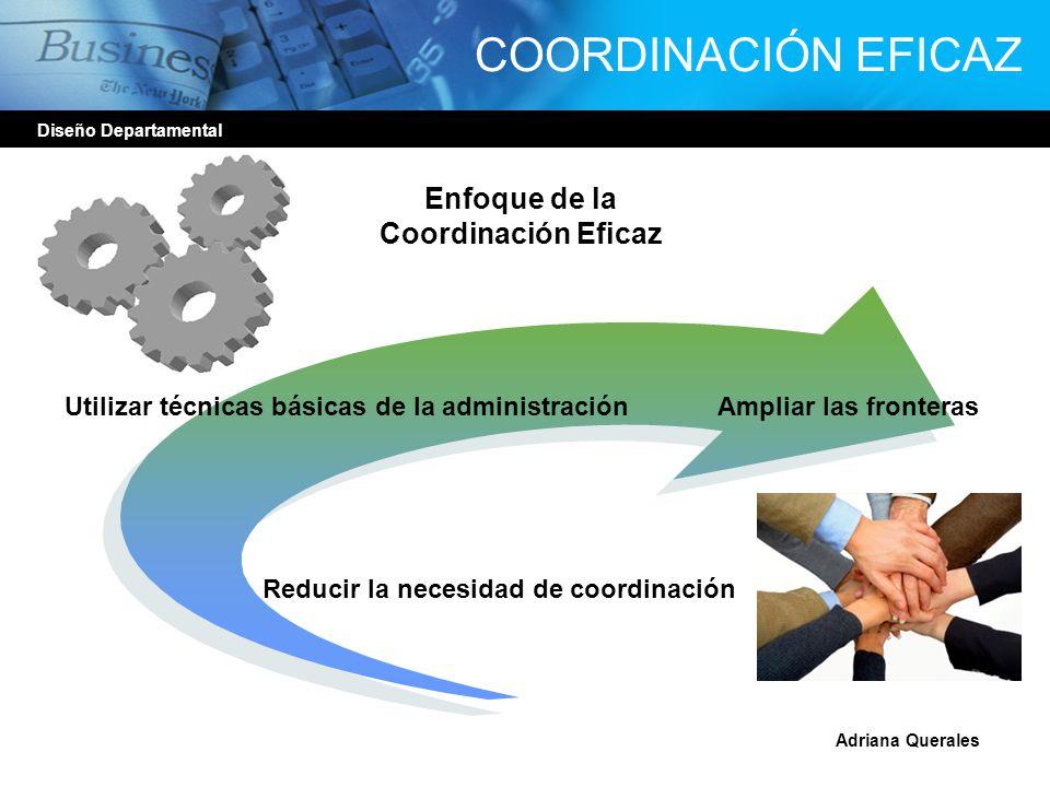 Enfoque de la Coordinación Eficaz