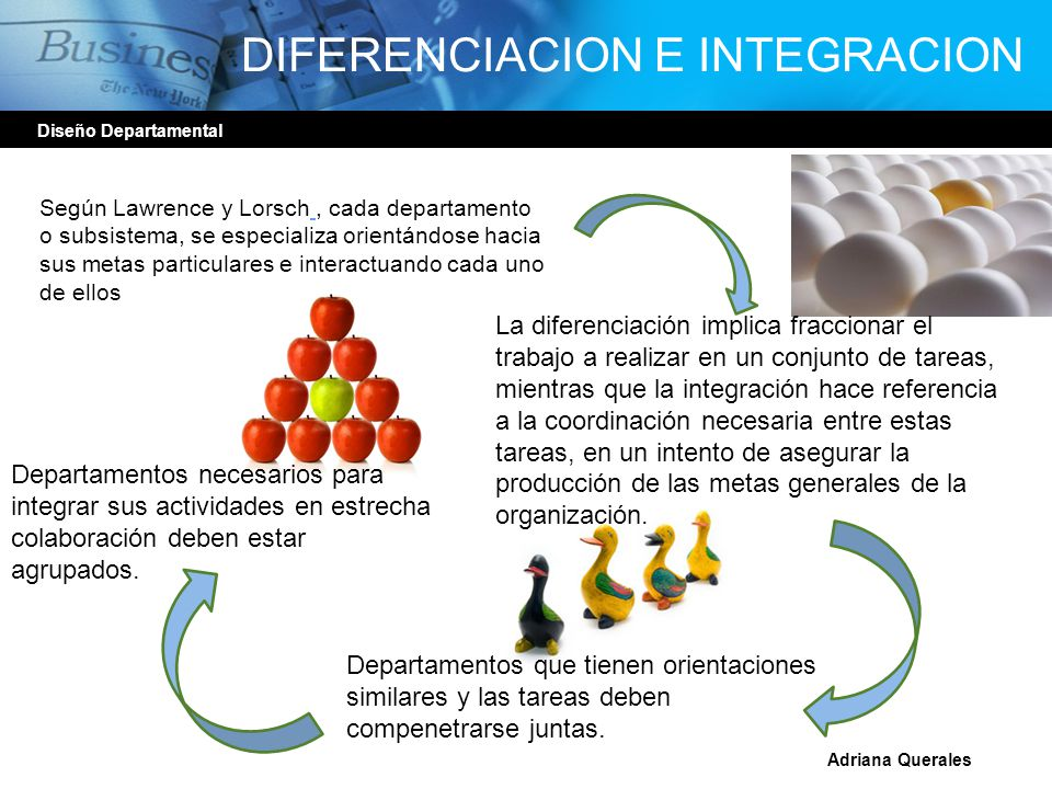 DIFERENCIACION E INTEGRACION