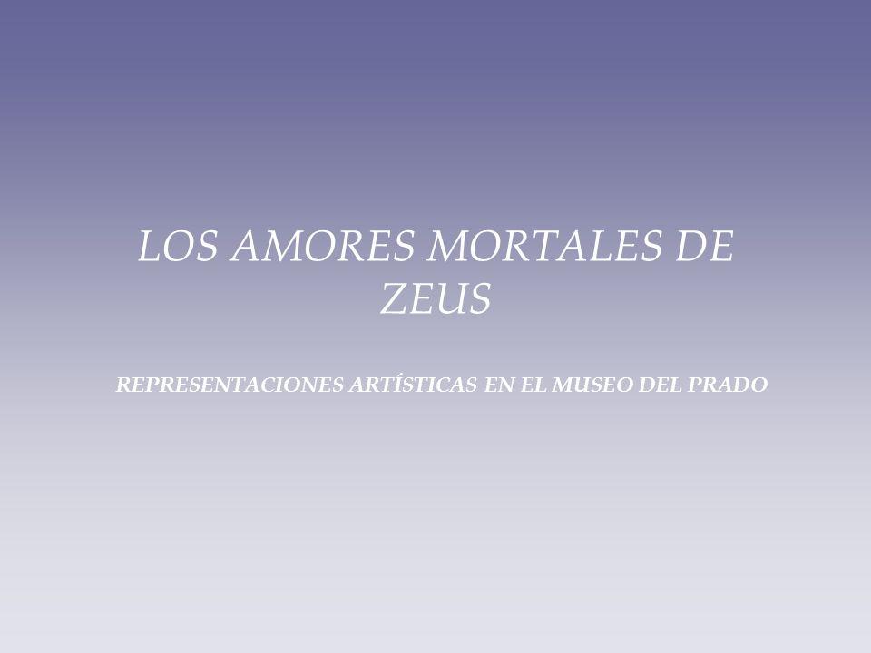 LOS AMORES MORTALES DE ZEUS