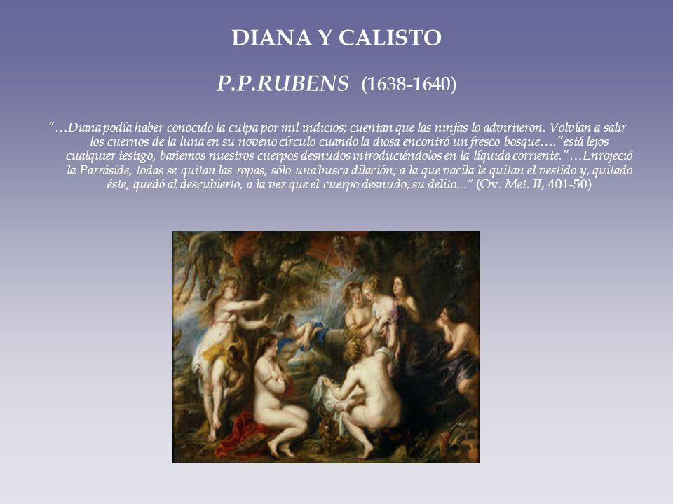 DIANA Y CALISTO P.P.RUBENS (1638-1640)