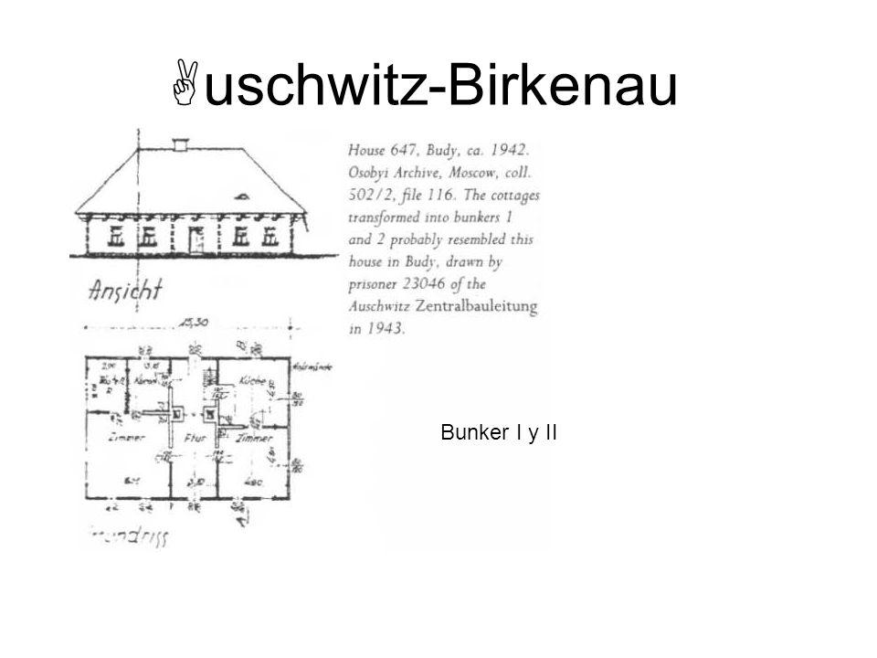 uschwitz-Birkenau Bunker I y II Instructor Note: