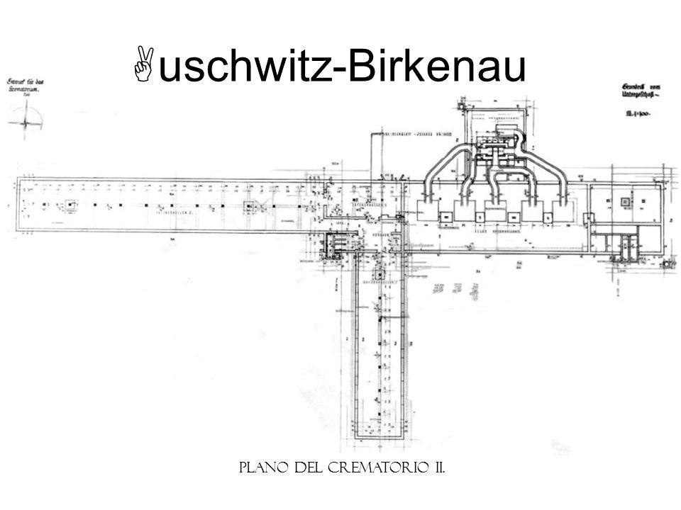 Plano del Crematorio II.