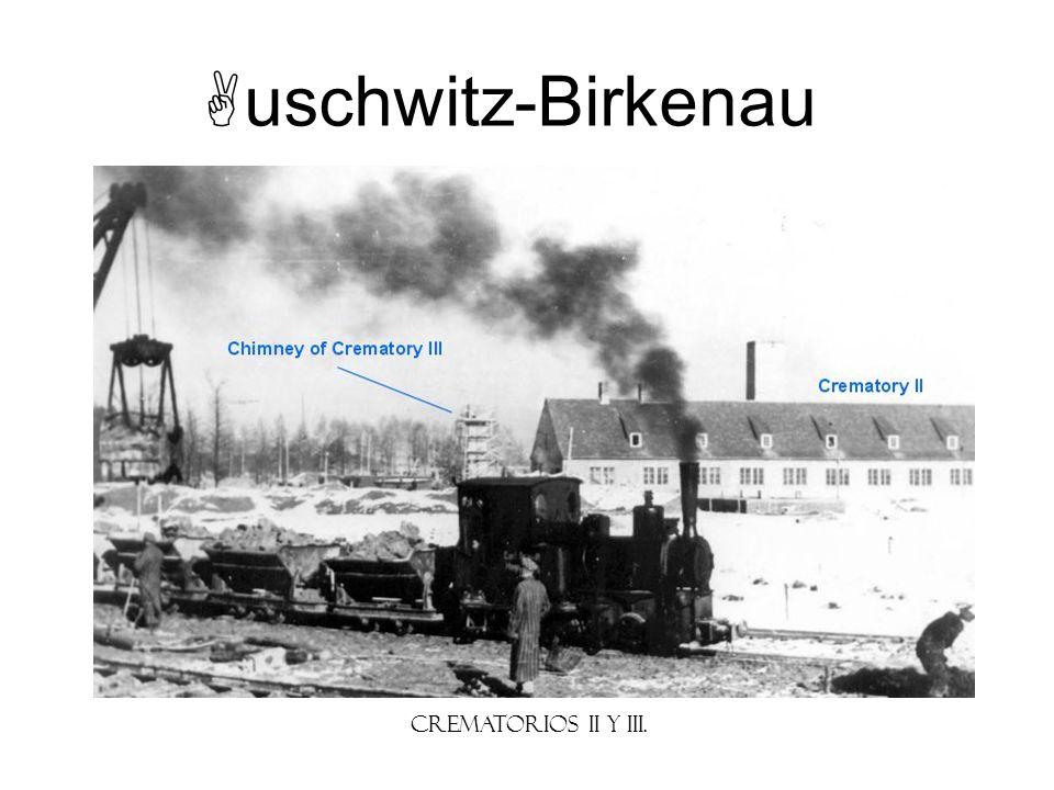 uschwitz-Birkenau Crematorios II y III. Instructor Note:
