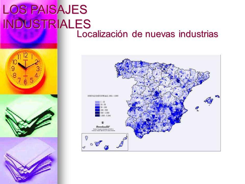 Localización de nuevas industrias