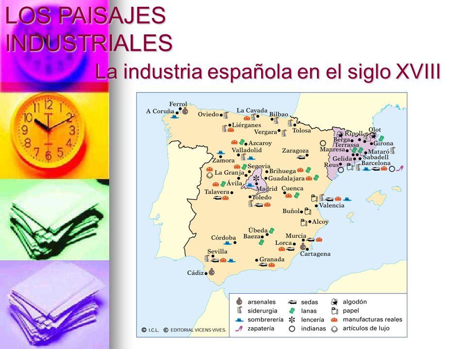 La industria española en el siglo XVIII
