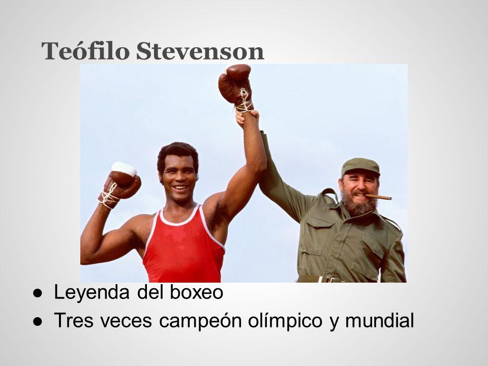 Teófilo Stevenson Leyenda del boxeo