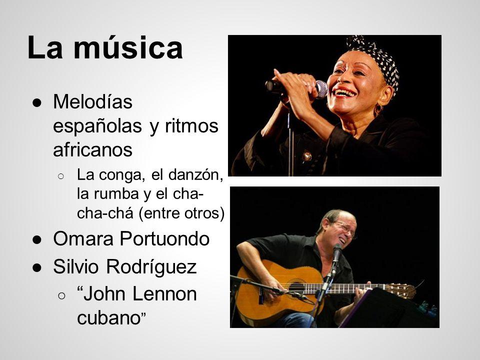 La música Melodías españolas y ritmos africanos Omara Portuondo