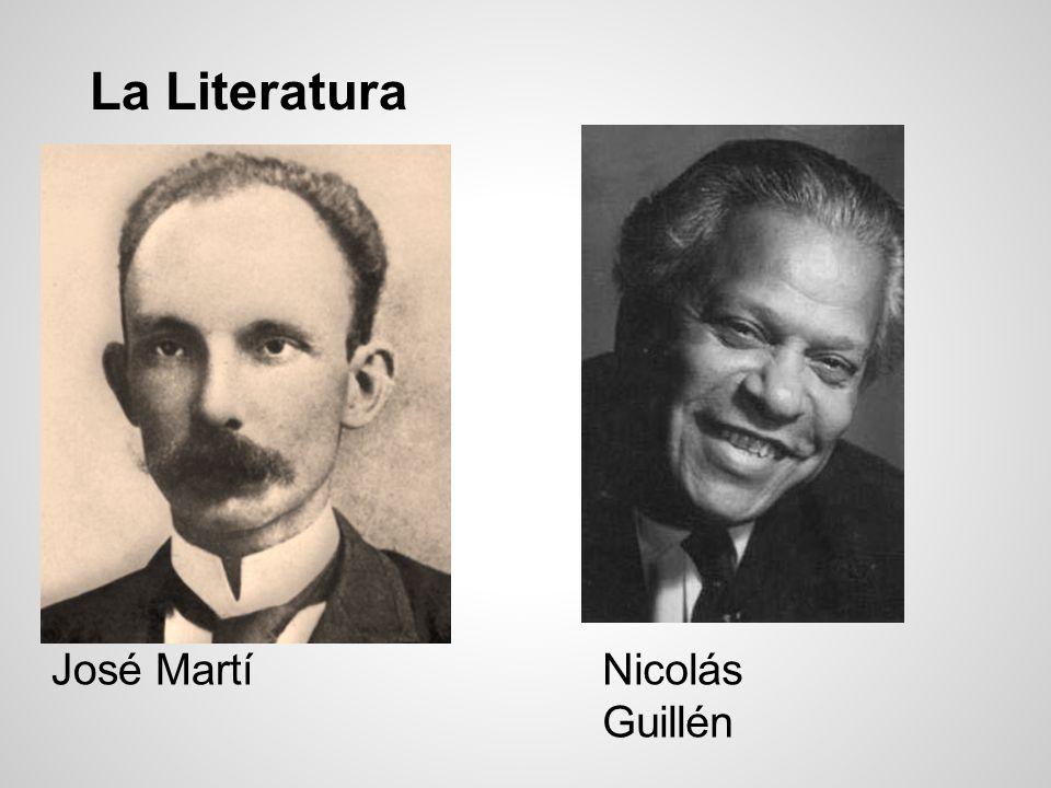 La Literatura José Martí Nicolás Guillén
