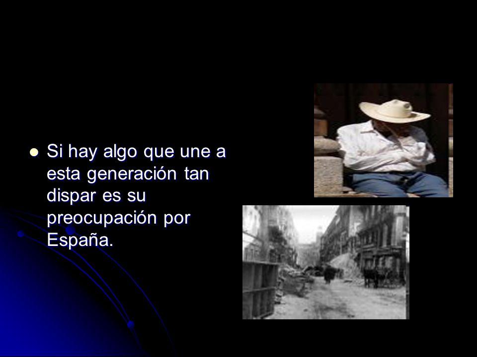 Si hay algo que une a esta generación tan dispar es su preocupación por España.