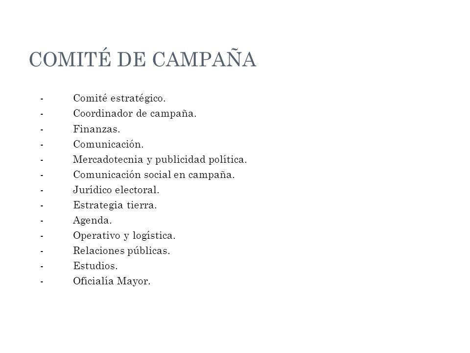 COMITÉ DE CAMPAÑA