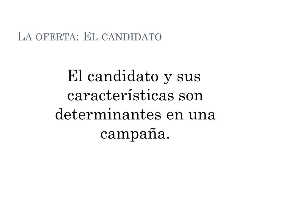 La oferta: El candidato