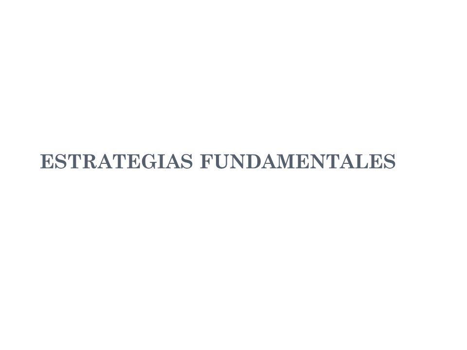 ESTRATEGIAS FUNDAMENTALES