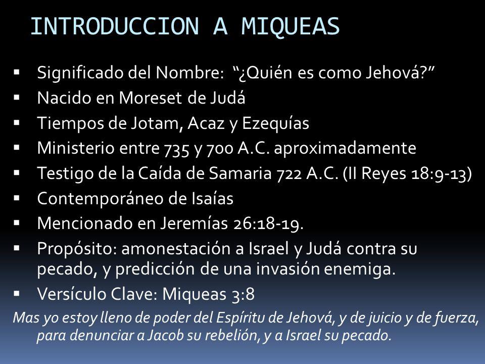 INTRODUCCION A MIQUEAS
