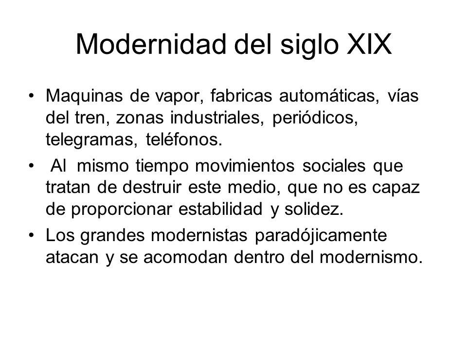 Modernidad del siglo XIX