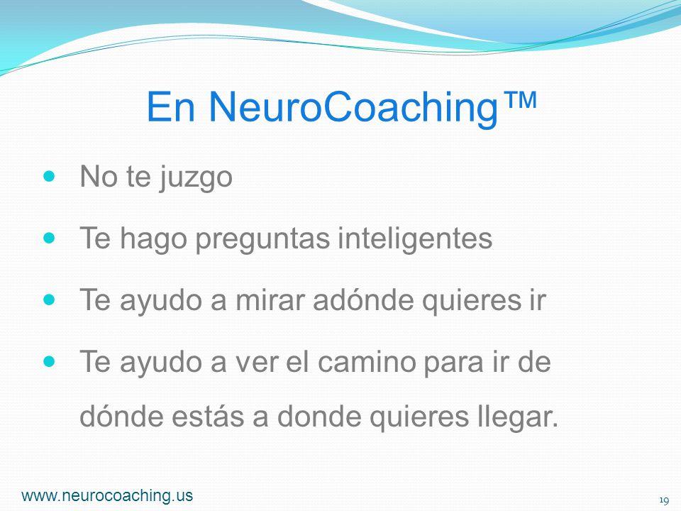 En NeuroCoaching™ No te juzgo Te hago preguntas inteligentes